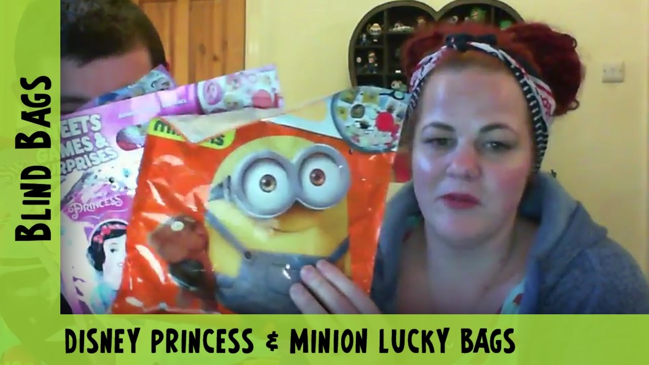 Disney Princess & Minions Lucky Bags | Adults Like Toys Too