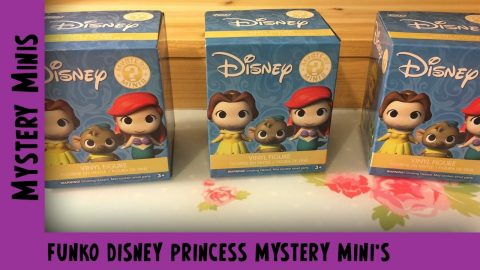 Disney Princesses Funko Mystery Minis Unboxing  | Adults Like Toys Too