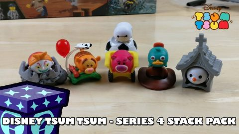 Disney Tsum Tsum - Series 4 Stack Pack Opening | Adults Like Toys Too