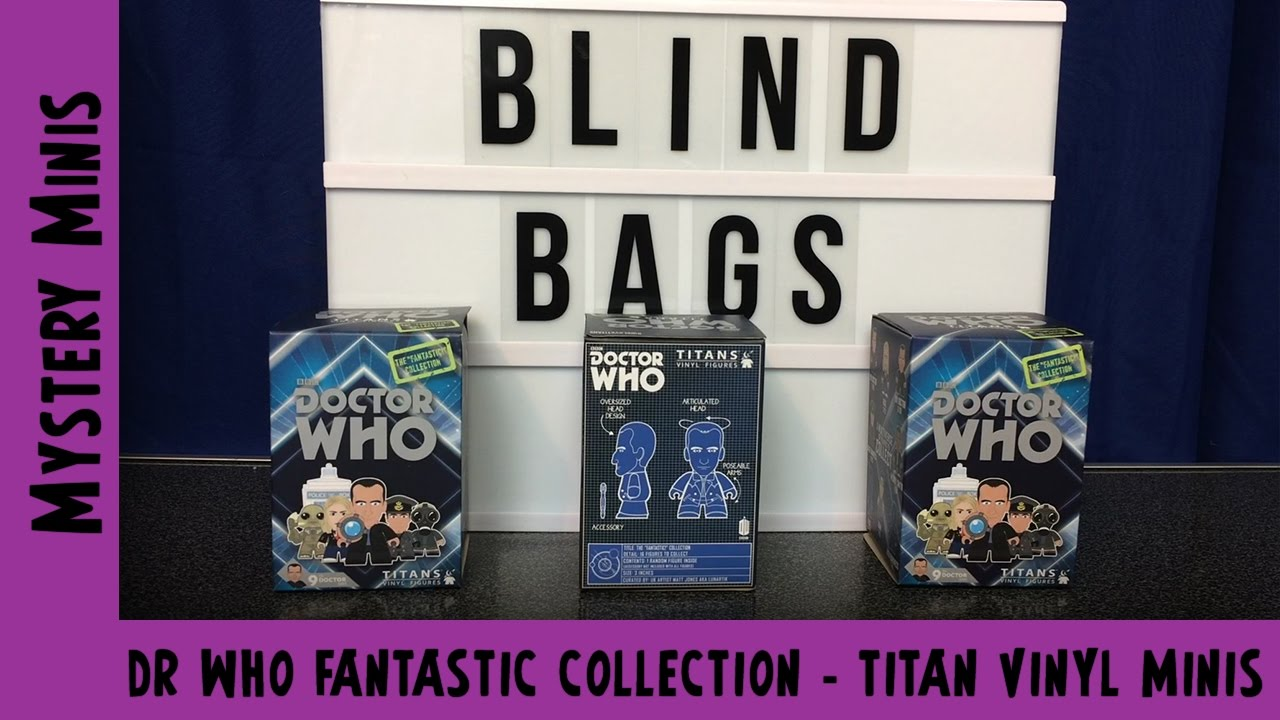 Doctor Who Fantastic Collection - Titan Vinyl Minis | Adults Like Toys Too