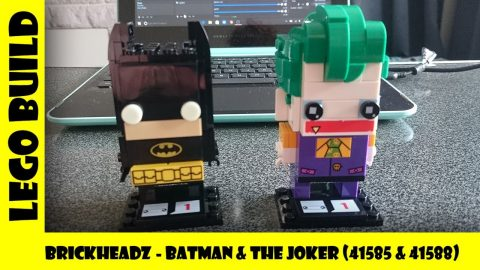 Lego Brickheadz - Batman & The Joker (Sets #41585 & #41588)  | Lego Build | Adults Like Toys Too