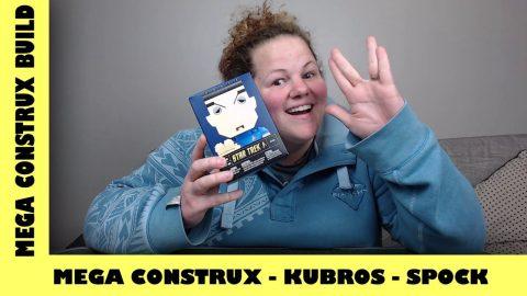 Mega Bloks Kubros: Star Trek - Spock | Mega Bloks Build | Adults Like Toys Too