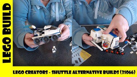 Lego Creators - Shuttle Alternative Builds (Set #31066) 🚀 | Lego Build | Adults Like Toys Too