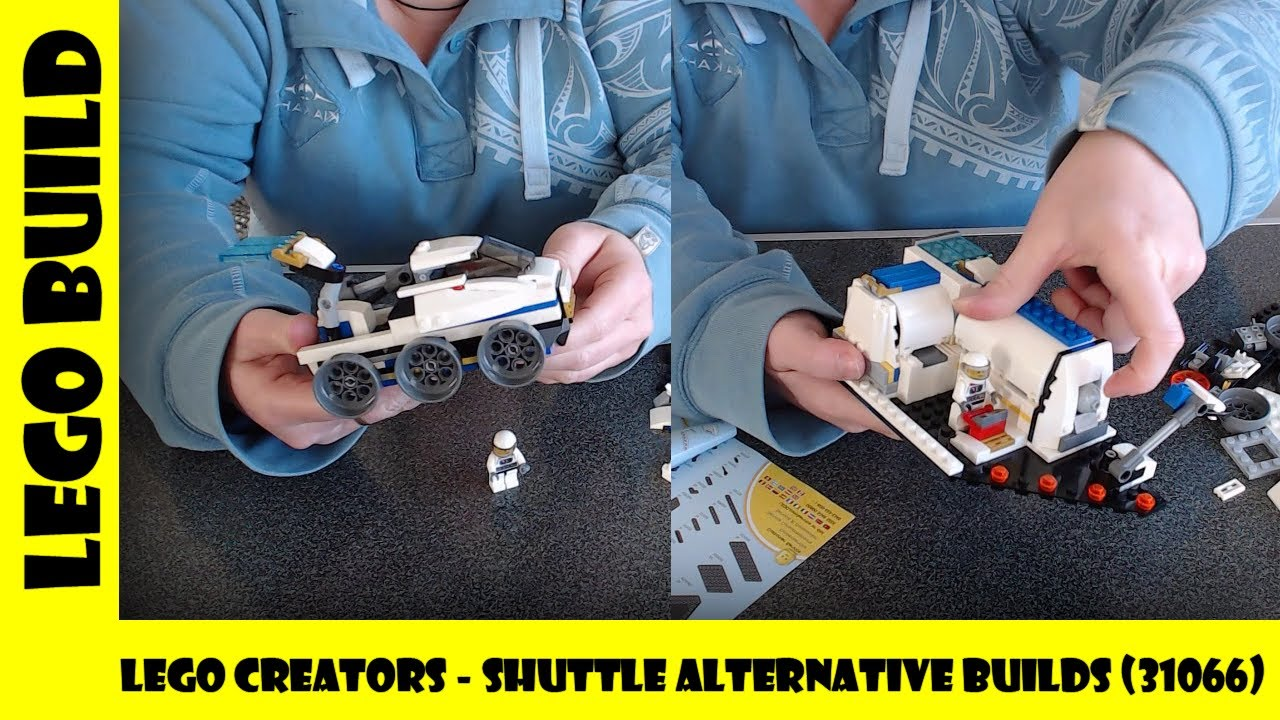 Lego Creators - Shuttle Alternative Builds (Set #31066) 🚀 | Lego Build | Adults Like Toys Too