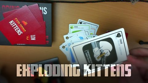 Exploding Kittens | Vlog