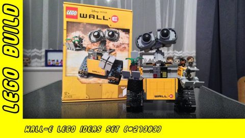 Disney Pixar Wall-E Lego Idea's Build (#21303) | Lego Build | Adults Like Toys Too