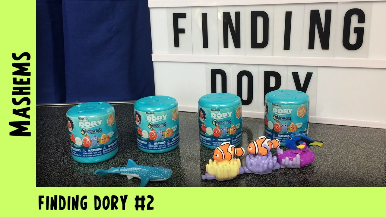 Finding Dory Mashems Mystery Egg Opening #2 | Adults Like Toys Too