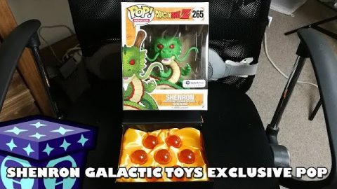 Galactic Toy Exclusive Shenron Funko Pop Review | Adults Like Toys Too