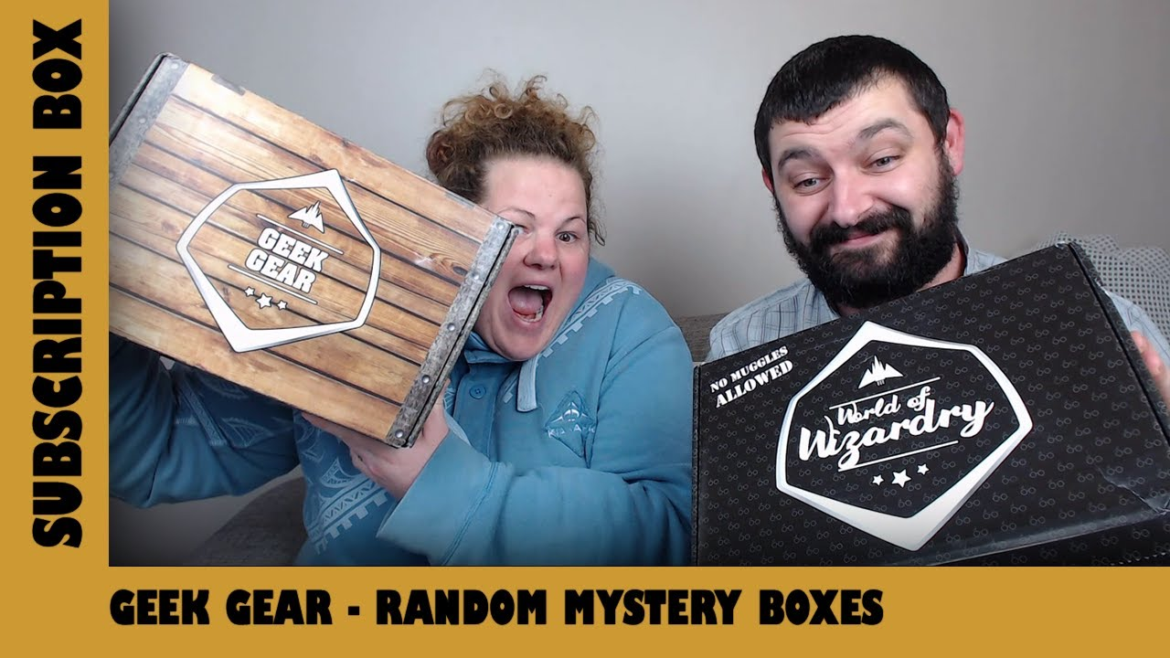 Geek Gear Mystery Lucky Boxes | Adults Like Toys Too