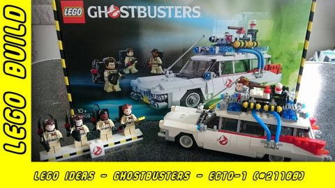 Lego Ideas - Ghostbusters - Ecto-1 (Set #21108)  | Lego Build | Adults Like Toys Too