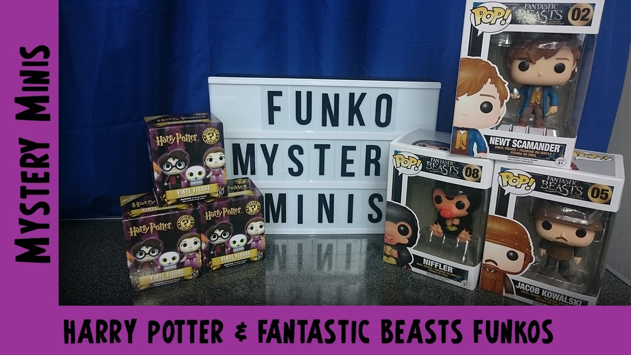 Harry Potter & Fantastic Beasts Funko Pops & Minis| Adults Like Toys Too