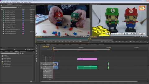 How Paddy edits our Lego Videos!! | #Vlogtober 9 | Vlog