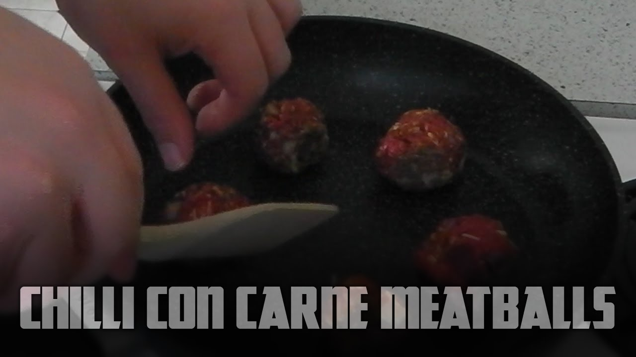How to make Chilli Con Carne Meatballs | Cooking