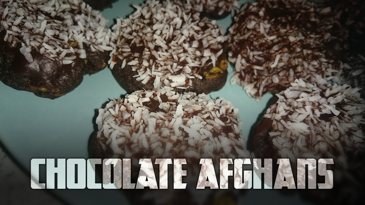 How to make Chocolate Afghans   Cooking