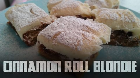How to make Cinnamon Roll Blondies | Cooking