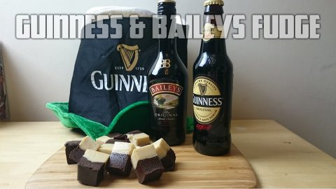How to make Guinness & Baileys Fudge | Cooking