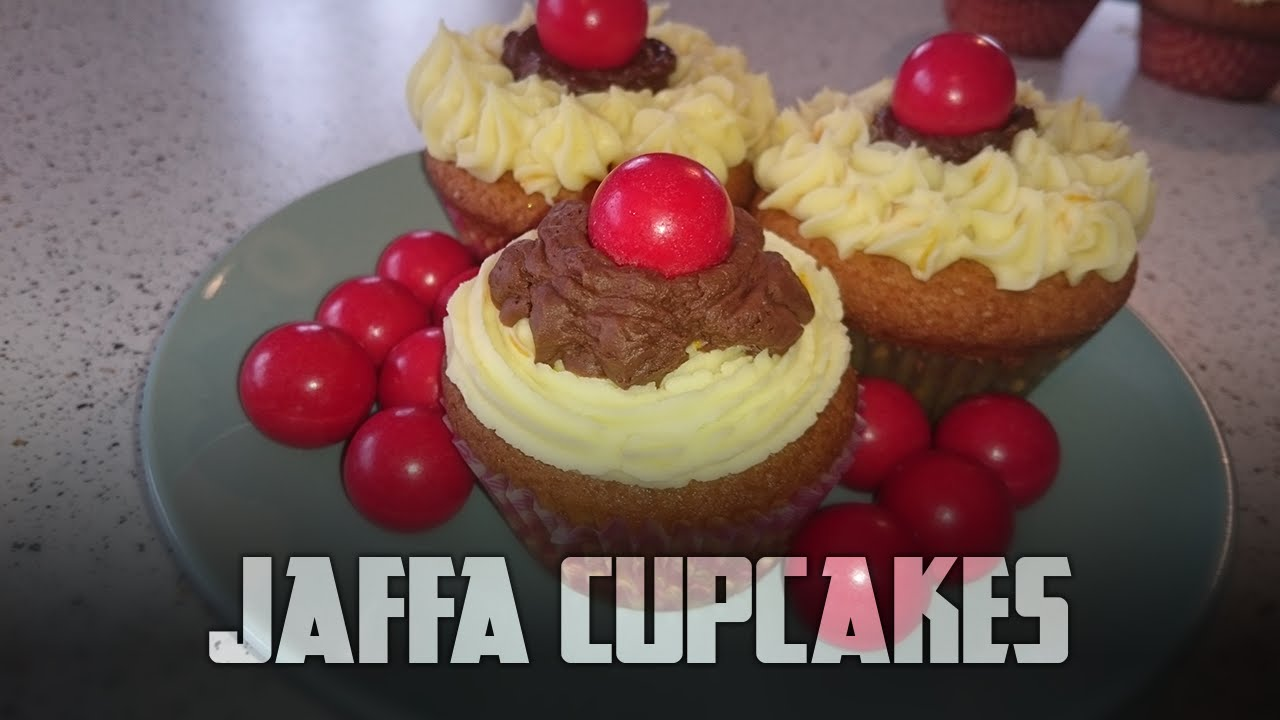 How to make Jaffa CupCakes   Cooking