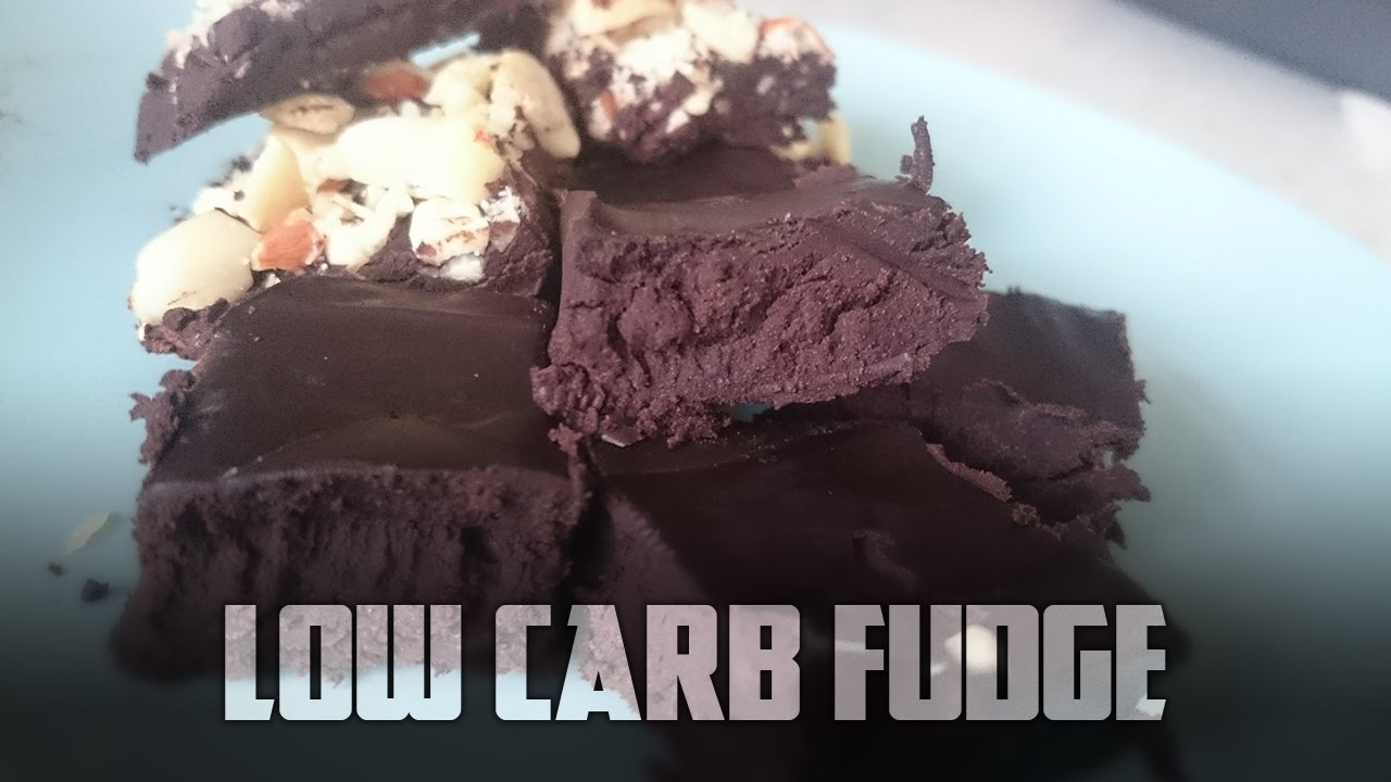 How to make Low Carb Fudge | Cooking