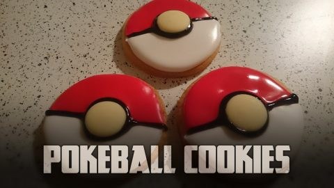 How to make Pokeball Cookies | Cooking