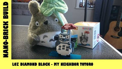 BootLego: LOZ Diamond Block My Neighbour Totoro | Nano-Brick Build | Adults Like Toys Too