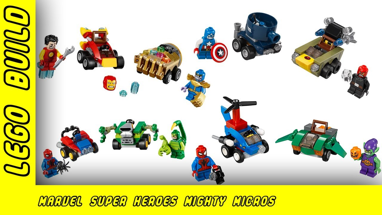 Marvel Comics Super Heroes Might Micros - Wave 1 & 2 | Lego Build | Adults Like Toys Too