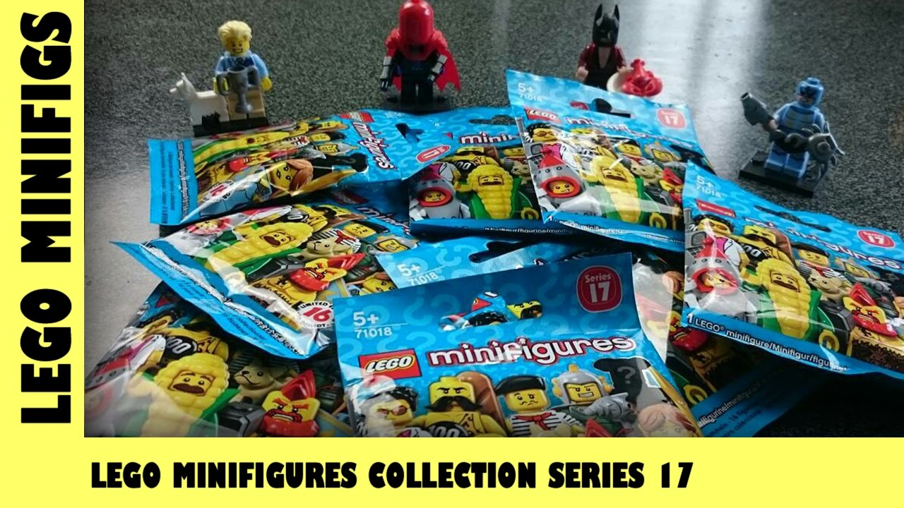 Lego MiniFigures Collection Series 17 Blind Bag Opening | Adults Like Toys Too