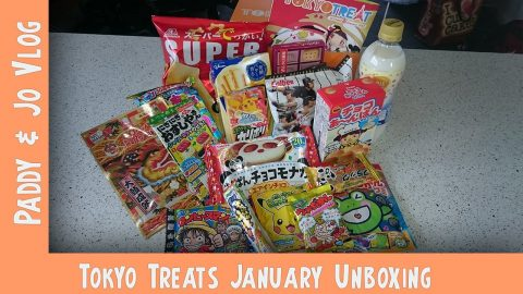 January TokyoTreat UNBOXING | Jo does love Pikachu | Vlog