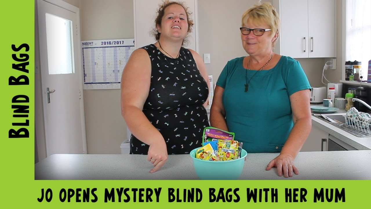 Jo opens Mystery Blind Bags with her Mum | Adults Like Toys Too