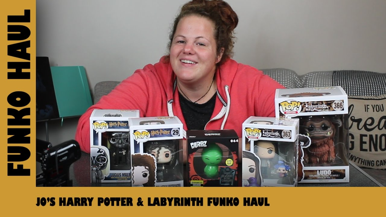 Jo's Harry Potter & Labyrinth Funko Pop Haul | Adults Like Toys Too