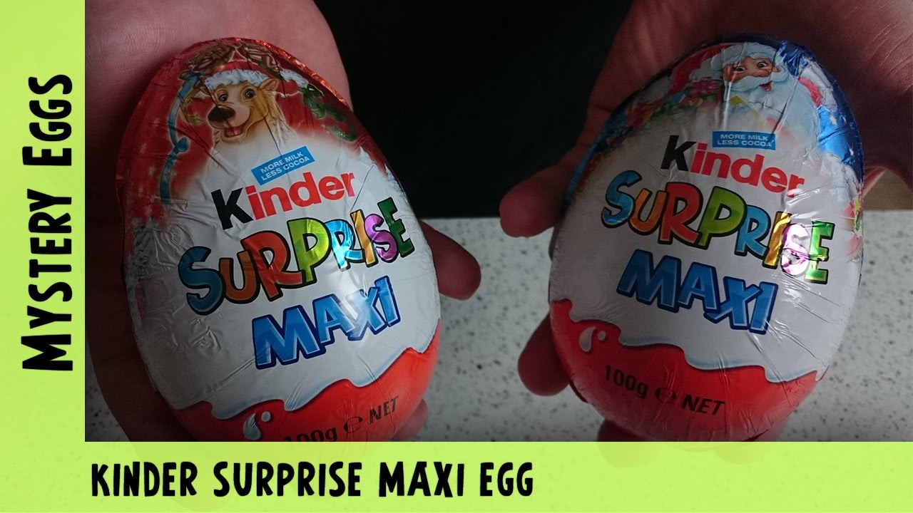 Kinder Surprise Maxi Egg Opening  | Adults Like Toys Too