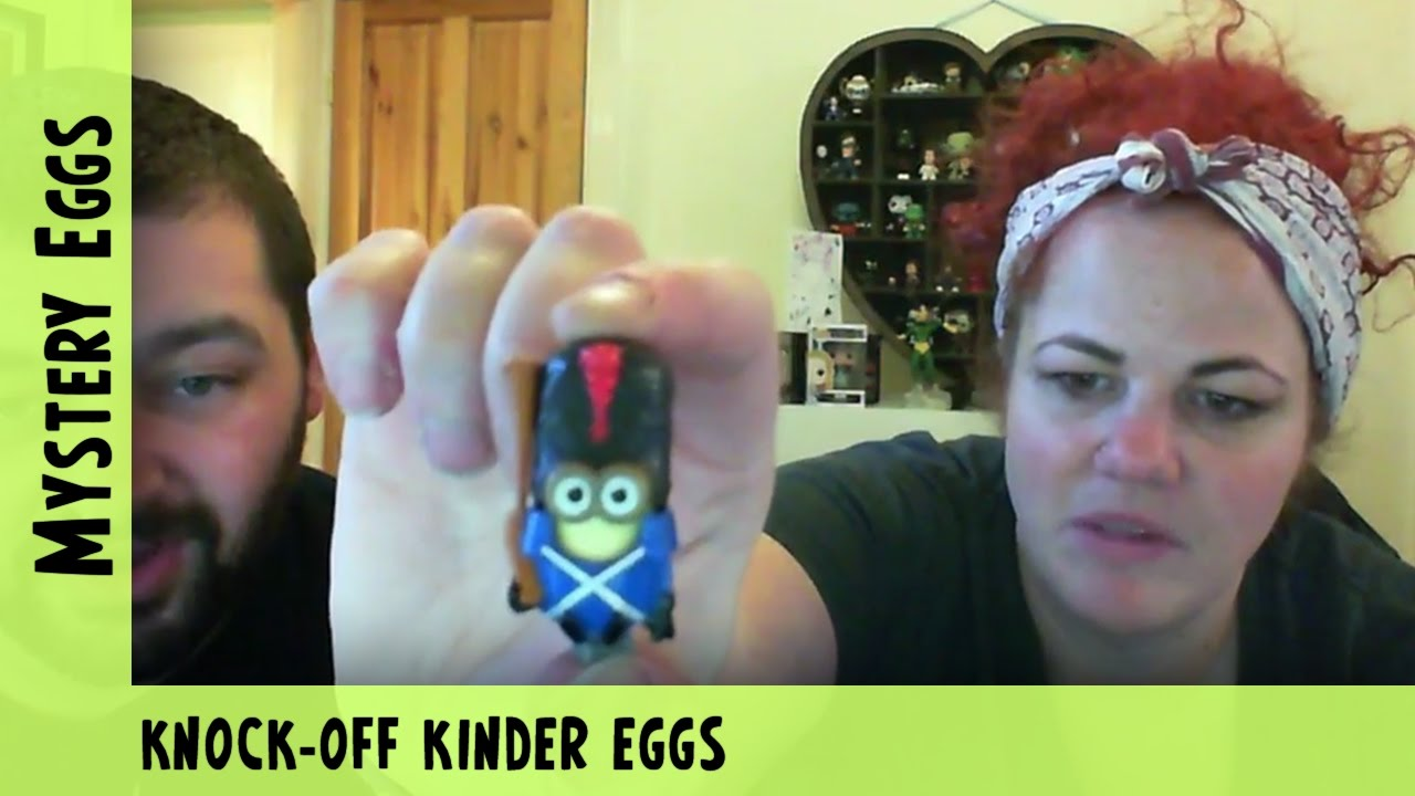 Knock-off Kinder Eggs | Adults Like Toys Too