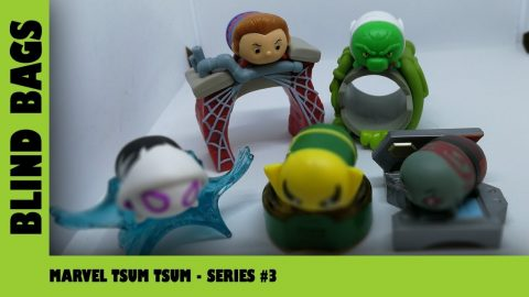 Marvel Tsum Tsum Stack Pack Series 3 Blind Bag Opening | Adults Like Toys Too