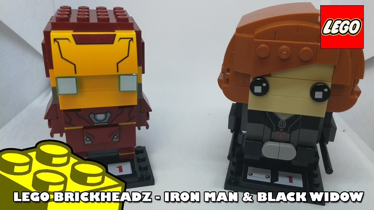 Lego Brickheadz Iron Man & Black Widow | Lego Build | Adults Like Toys Too