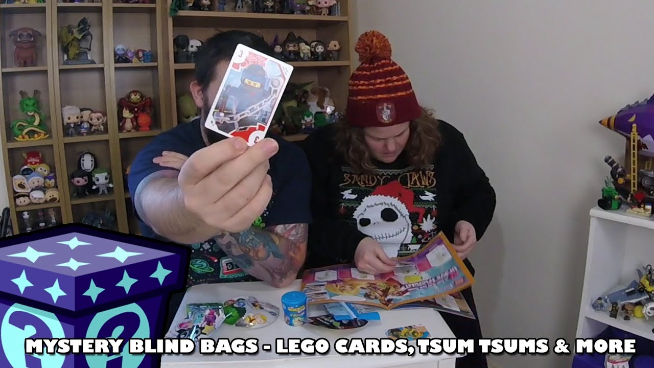 Lego Cards, Tsum Tsums & More - Mystery Blind Bags #34 | Adults Like Toys Too
