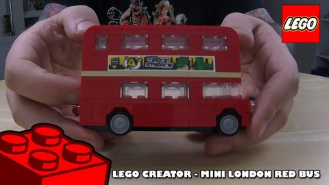 Lego Creator - Mini London Red Bus | Lego Build | Adults Like Toys Too
