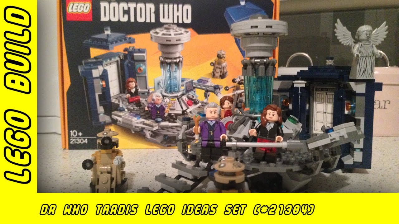 Lego Idea's Dr Who Tardis Build | Lego Build |  Adults Like Toys Too