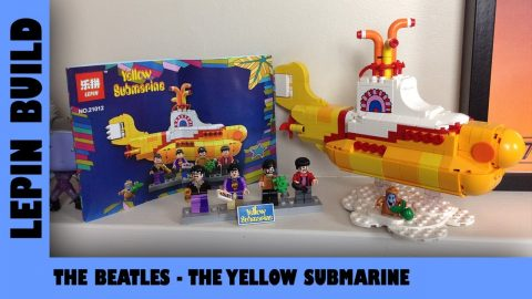BootLego: Lepin Yellow Submarine ⚓ | Lepin Build | Adults Like Toys Too