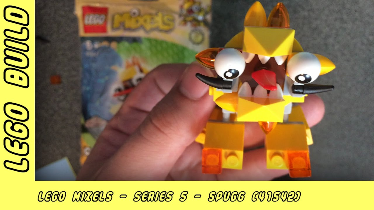 Lego Mixels Series 5 - Spugg   Lego Build   Adults Like Toys Too