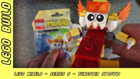 Lego Mixels Series 5 - Tungster | Lego Build | Adults Like Toys Too