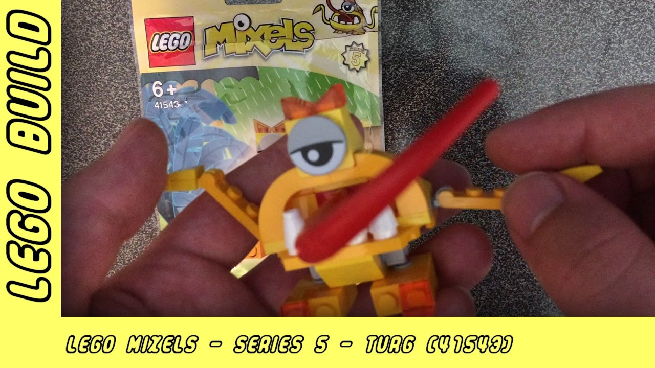 Lego Mixels Series 5 - Turg | Lego Build | Adults Like Toys Too