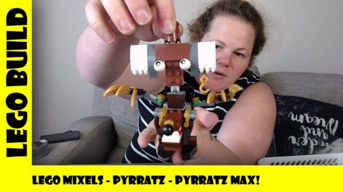 Lego Mixels Series 8 - Pyrattz Max! | Lego Build | Adults Like Toys Too