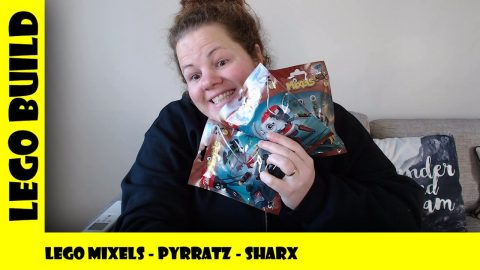 Lego Mixels Series 8 - Pyrattz  - Sharx | Lego Build | Adults Like Toys Too