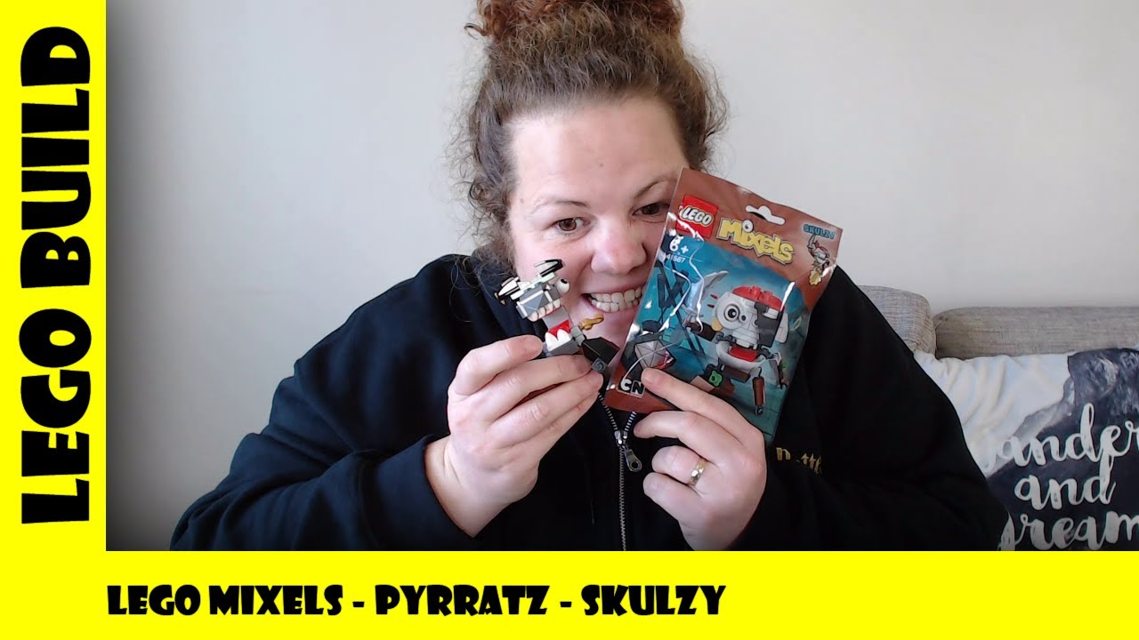 Lego Mixels Series 8 - Pyrattz  - Skulzy | Lego Build | Adults Like Toys Too
