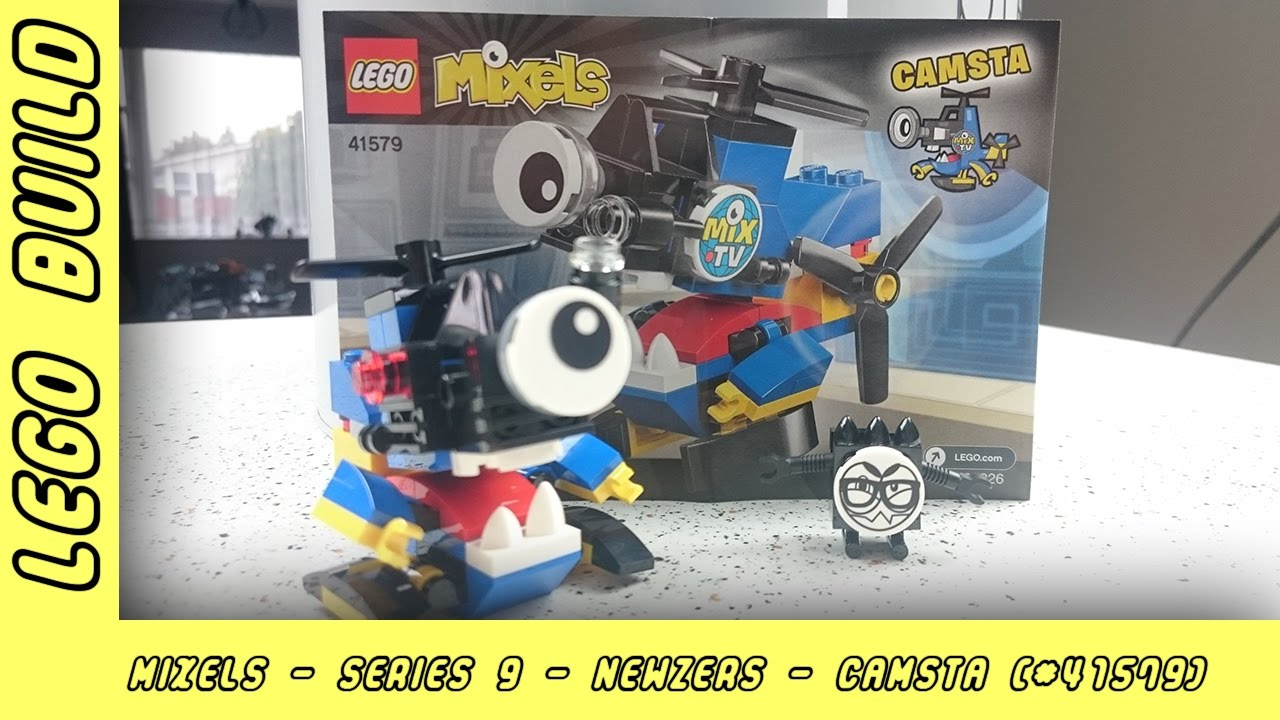 Lego Mixels Series 9 - Camsta | Lego Build | Adults Like Toys Too