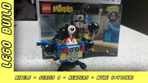 Lego Mixels Series 9 - Myke | Lego Build | Adults Like Toys Too