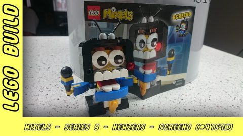 Lego Mixels Series 9 - Screeno | Lego Build | Adults Like Toys Too