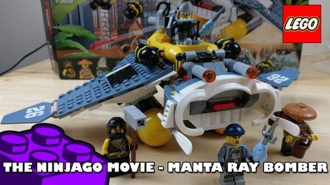 Lego Ninjago Movie - Manta Ray Bomber | Lego Build | Adults Like Toys Too