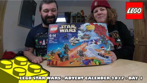 Lego Star Wars Advent Calendar - Day #1 | Adults Like Toys Too