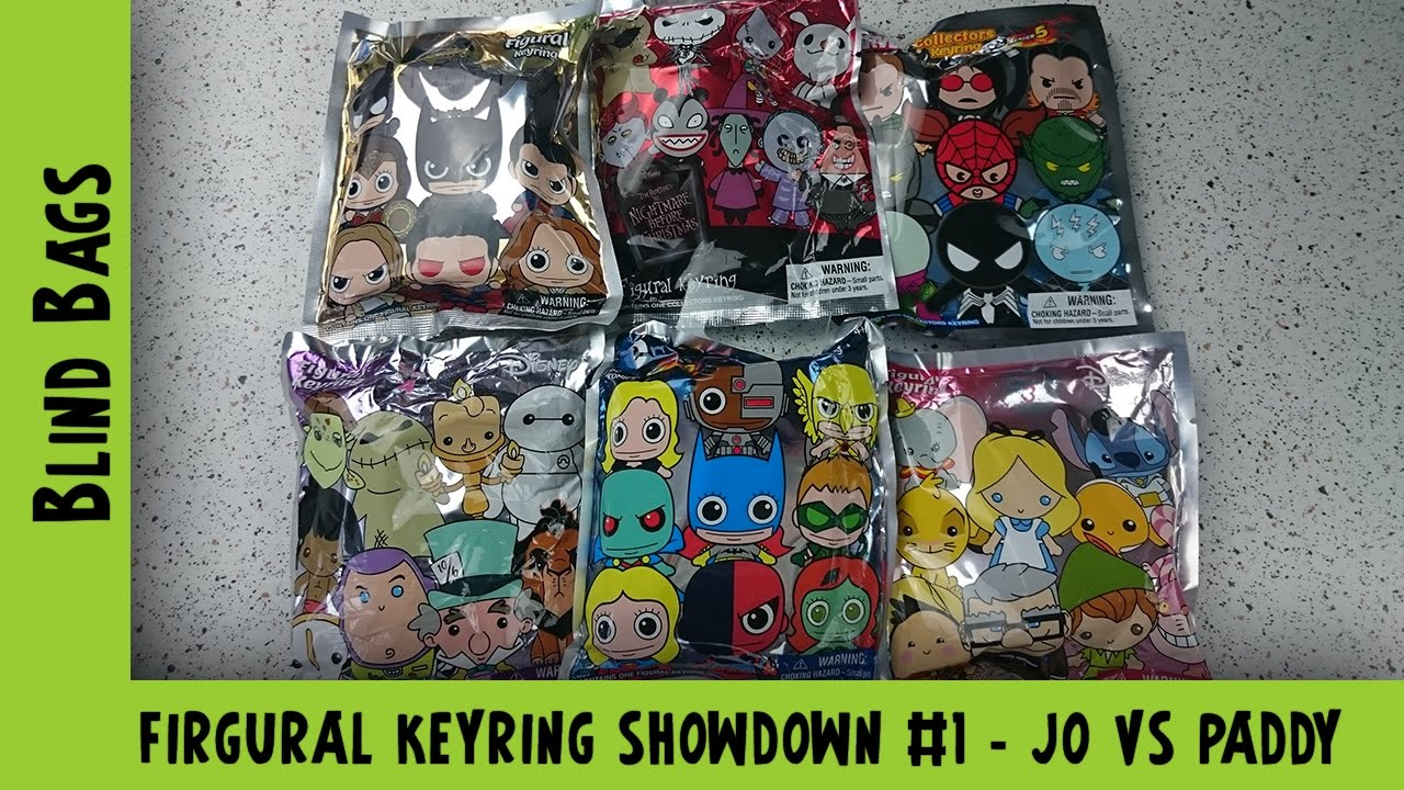 Figural Keyring Blind Bag Opening Disney, Marvel, Batman vs Superman | Adults Like Toys Too