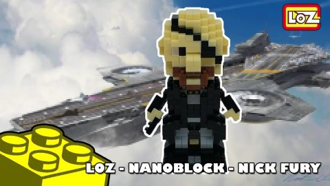 Live Bootlego Build: LOZ Nick Fury - Nanoblock Build